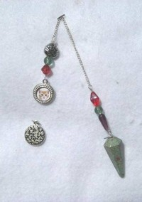 HeartTalk® Pendulum - Ruby in Zoisite